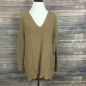 Athleta Merino Wool V-Neck Sweater